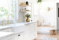 Stunning White Kitchen Design Ideas 50