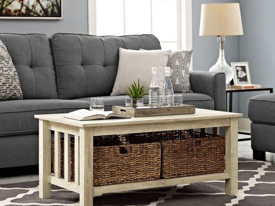 Awesome Wooden Coffee Table Design Ideas 36