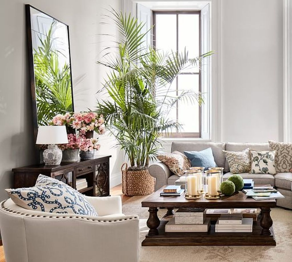 48 Stunning Spring Living Room Decor Ideas To Refresh Your ...