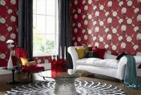 Sweet Living Room Decor Ideas With Red Color For Valentines Day 39