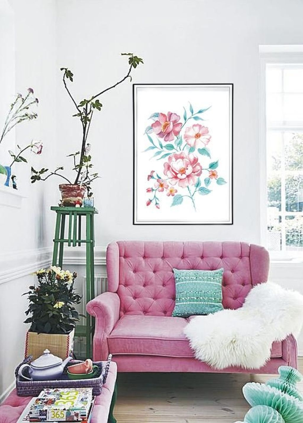 Beautiful Spring Decor Ideas With Pastel Color 41