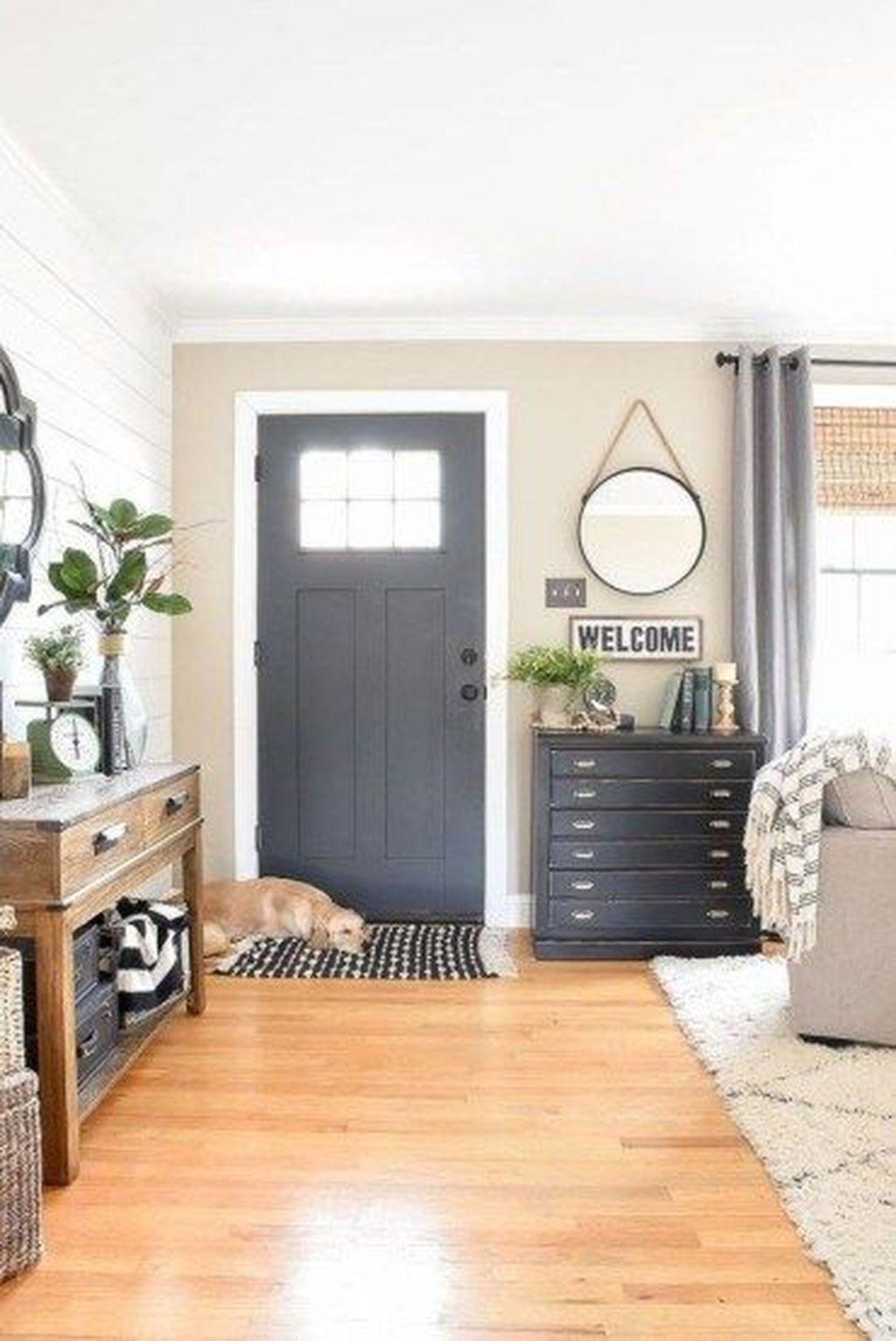 50 Luxury Modern Farmhouse Decoration Ideas - HOMYHOMEE
