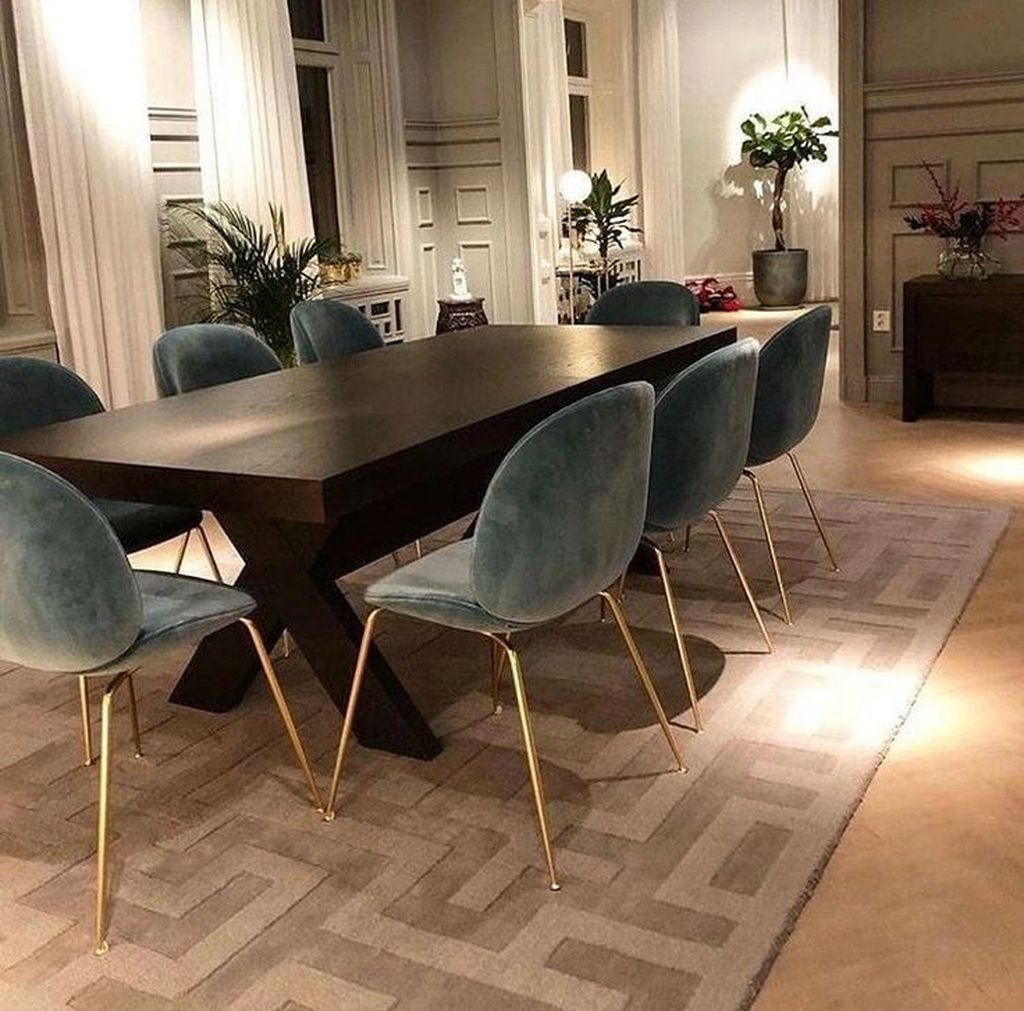 Popular Contemporary Dining Room Design Ideas 47