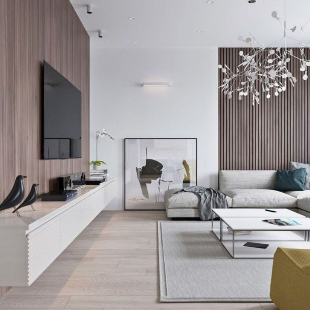 Awesome Minimalist Contemporary Living Room Decor Ideas 11