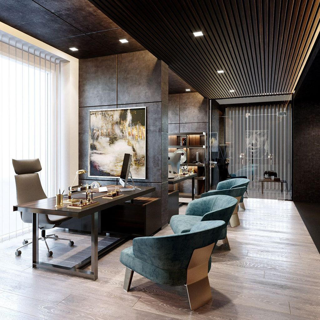 Gorgeous Modern Office Interior Design Ideas You Never Seen Before 23