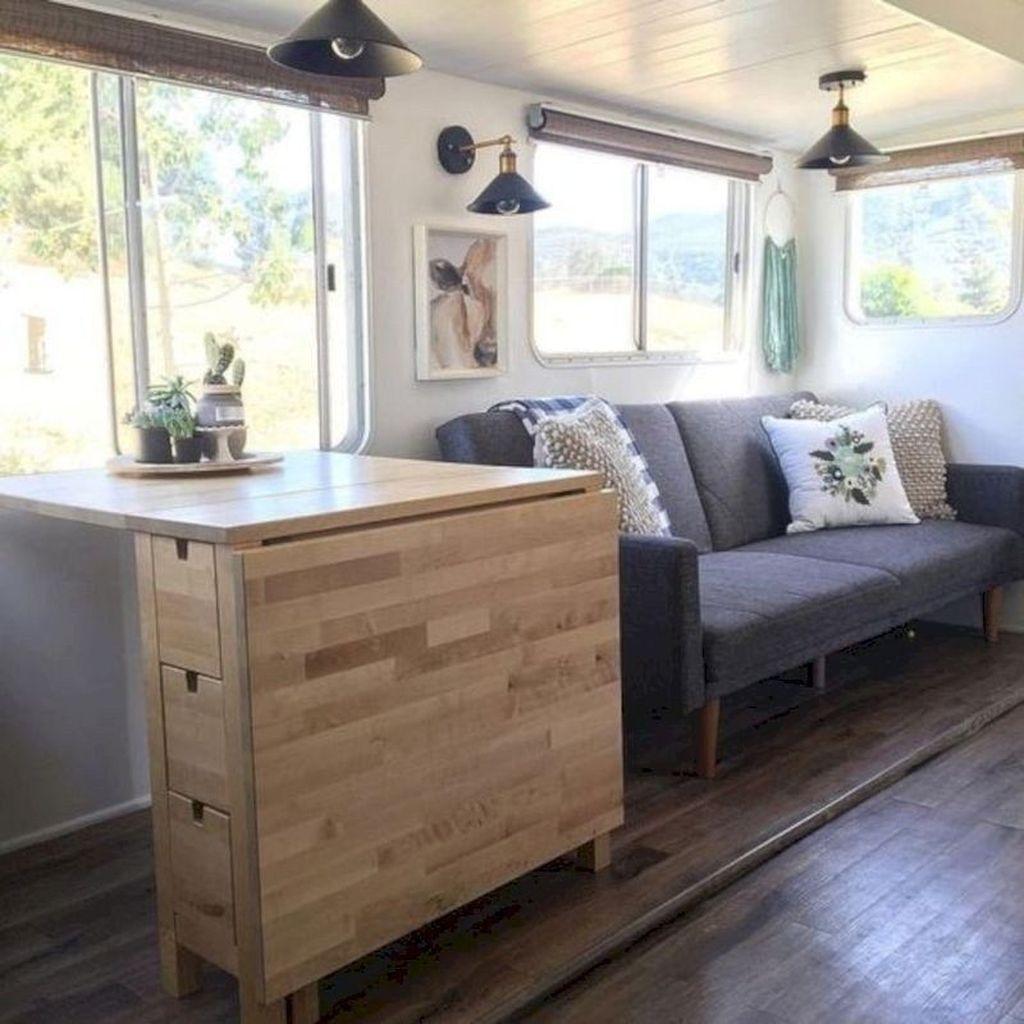 Nice RV Camper Remodel Ideas 15