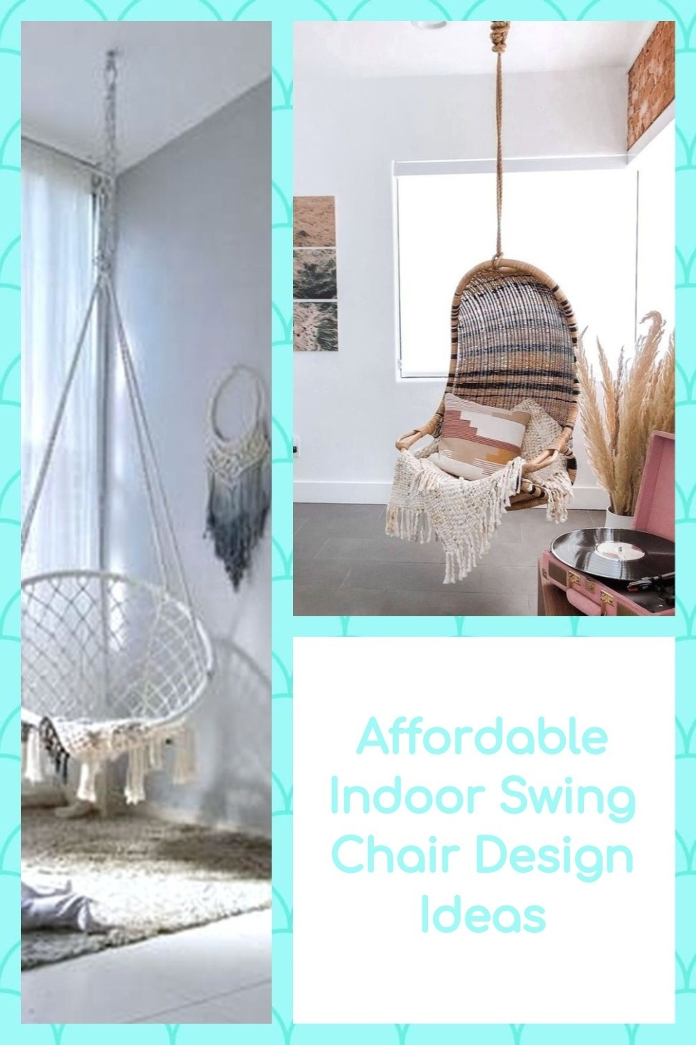 Affordable Indoor Swing Chair Design Ideas