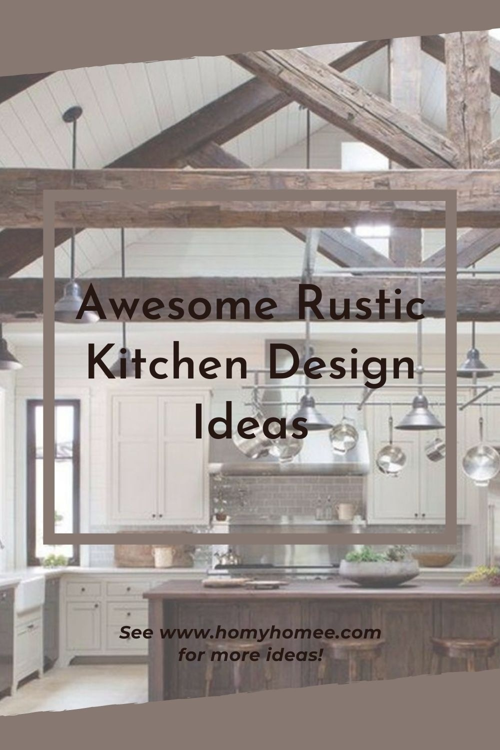 Awesome Rustic Kitchen Design Ideas