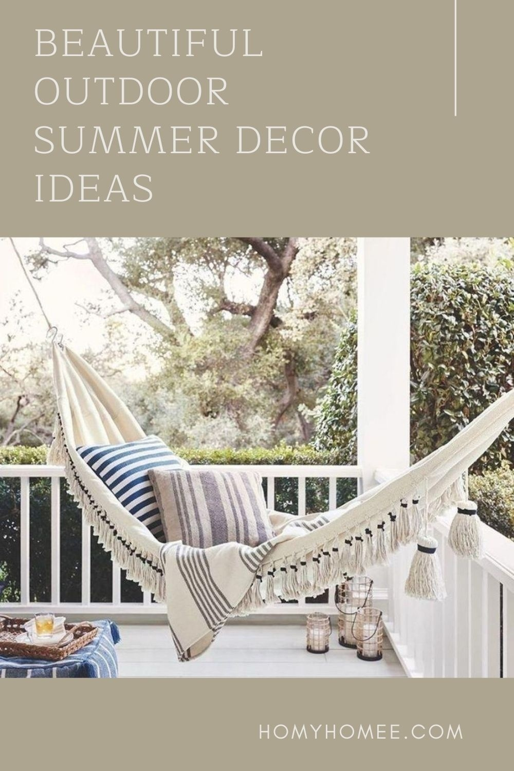Beautiful Outdoor Summer Decor Ideas