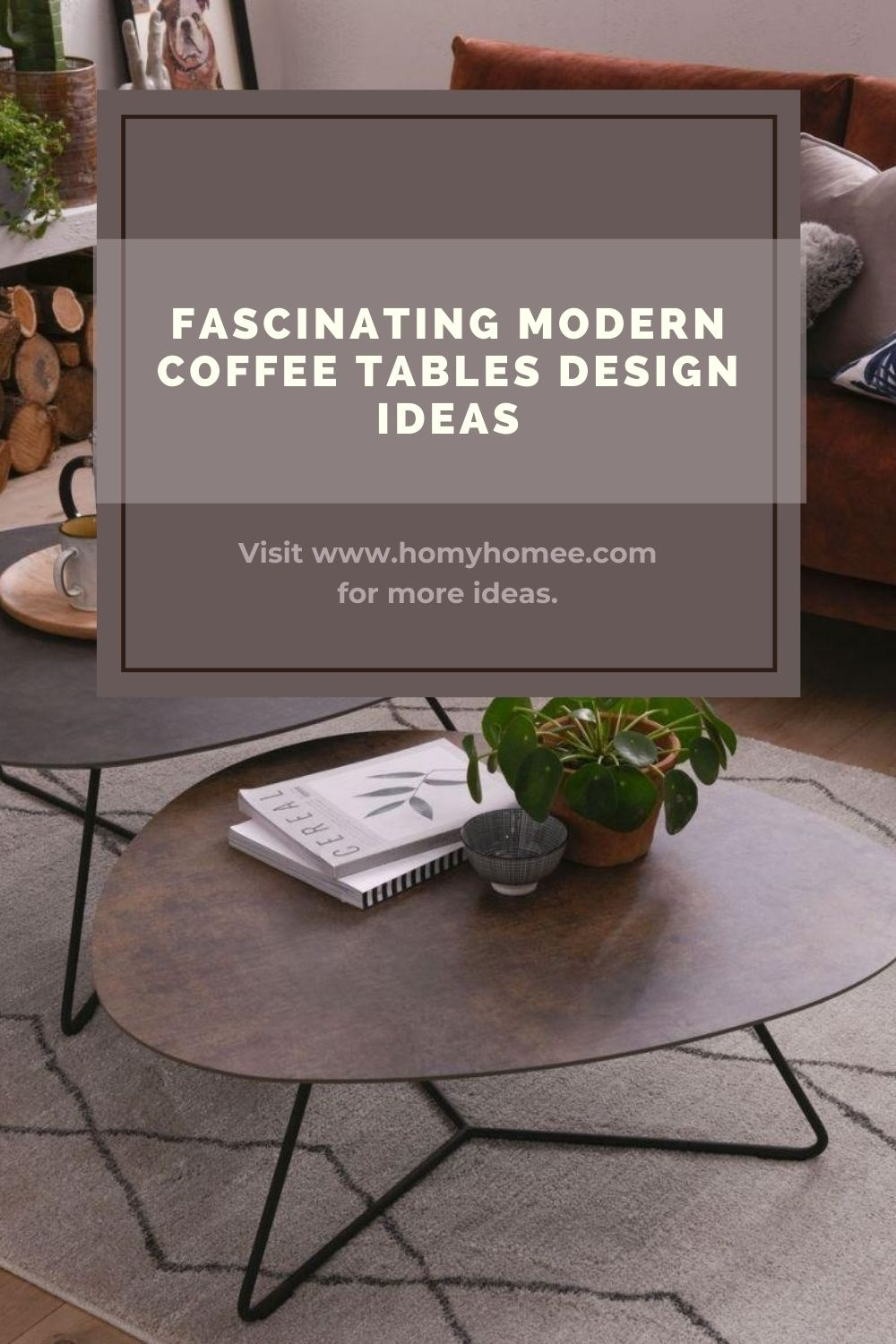 Fascinating Modern Coffee Tables Design Ideas