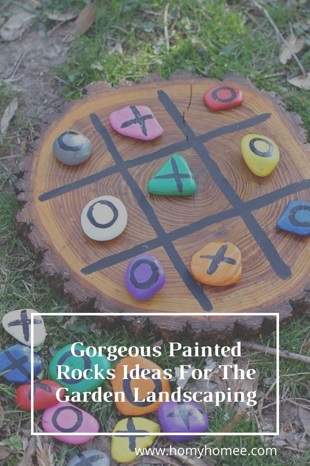Gorgeous Painted Rocks Ideas For The Garden Landscaping