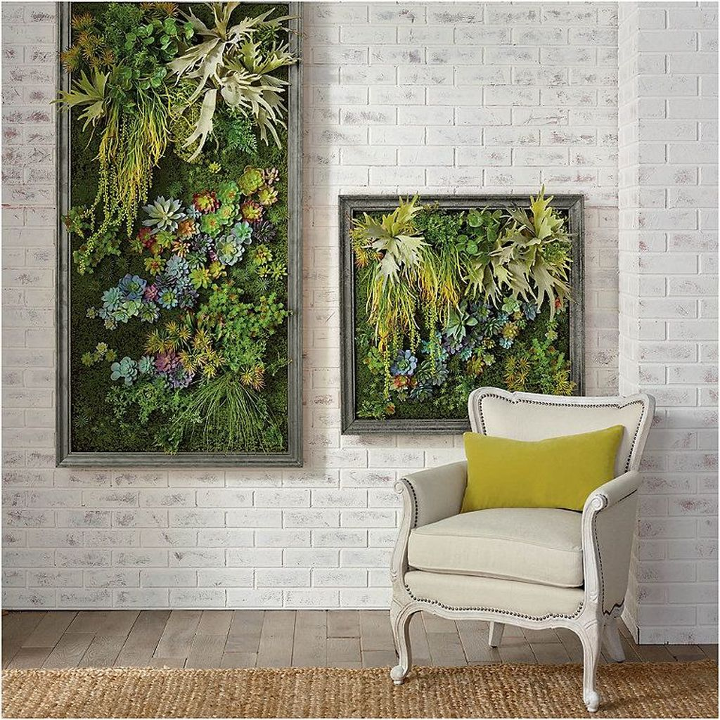 Nice Vertical Garden Wall Decor Ideas Look Beautiful 34