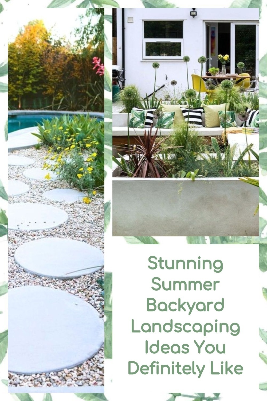 Stunning Summer Backyard Landscaping Ideas You Definitely Like