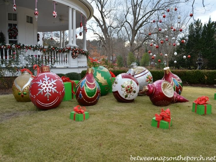 Large DIY Outdoor Christmas Decorations