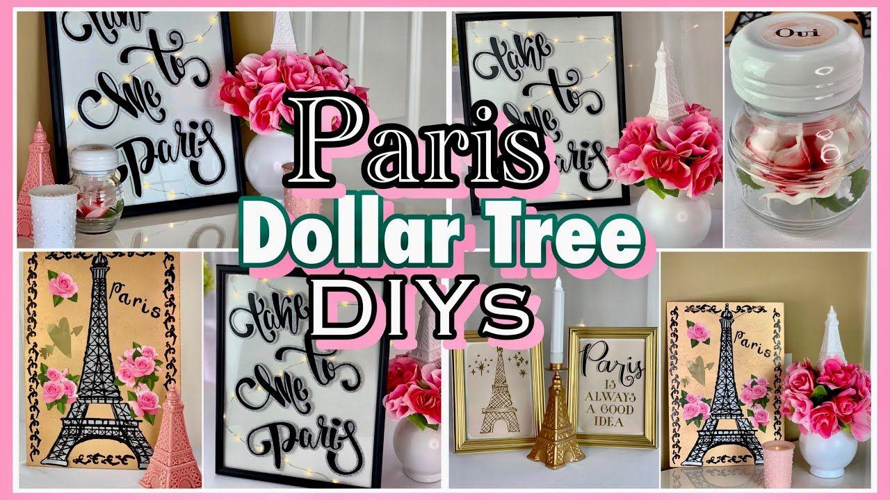 Paris Room Decor DIY
