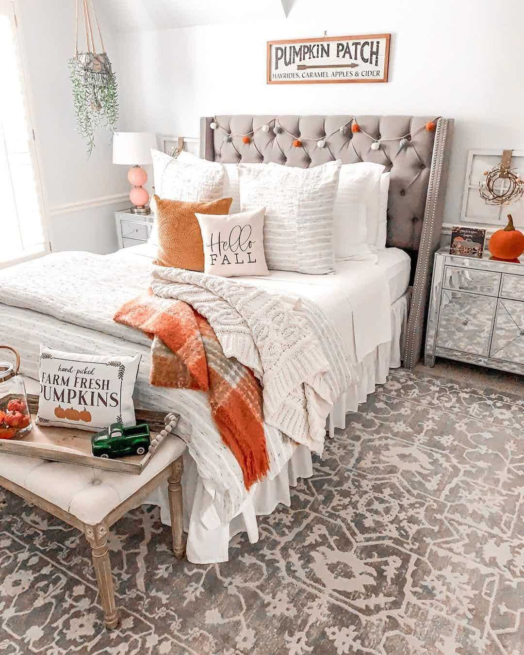 Fall Bedroom Decor