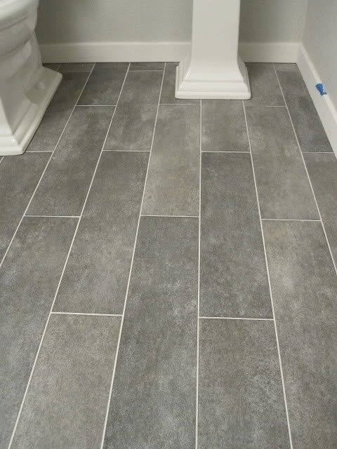 Ceramic Tile Bathroom Floor