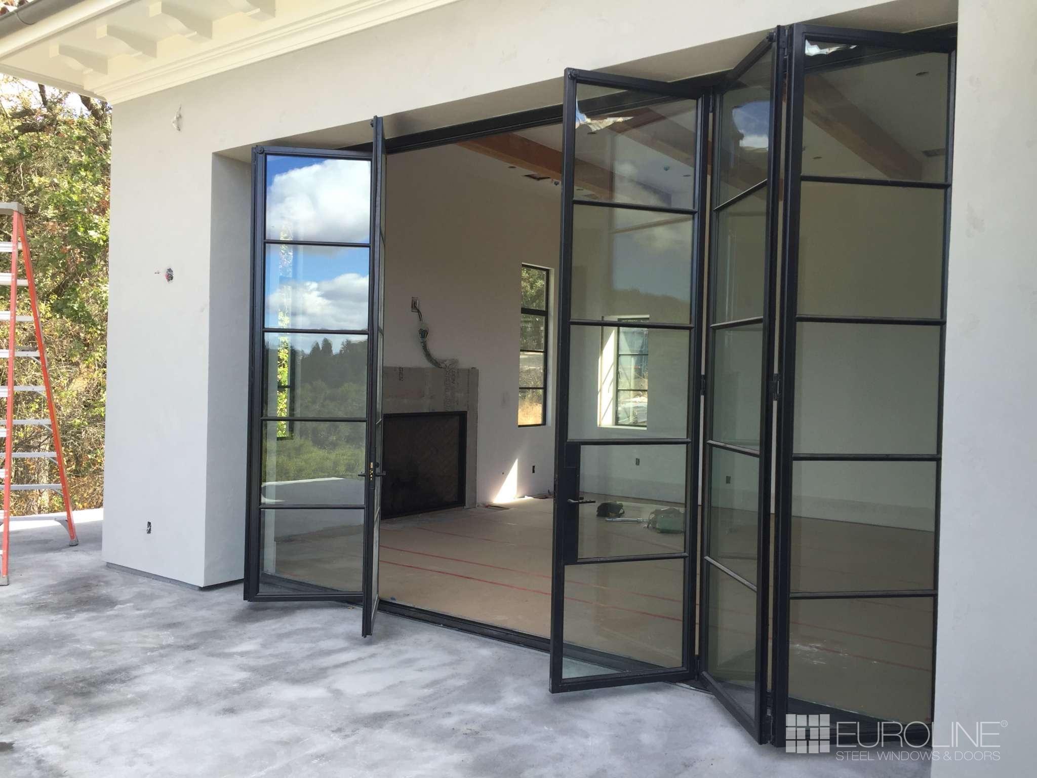 Exterior Accordion Doors