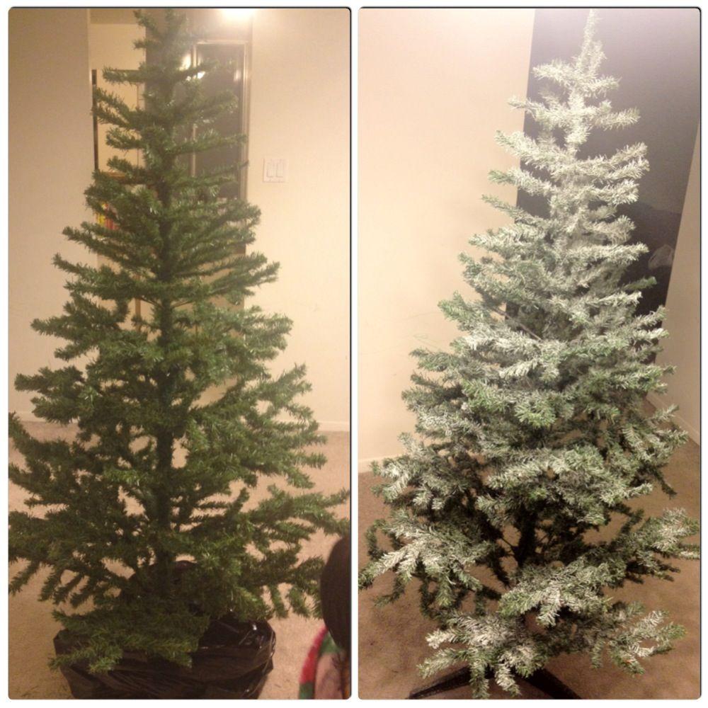 Christmas Tree Snow Spray