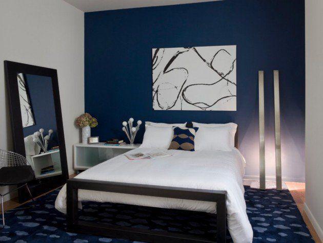 Navy Blue Bedroom Ideas