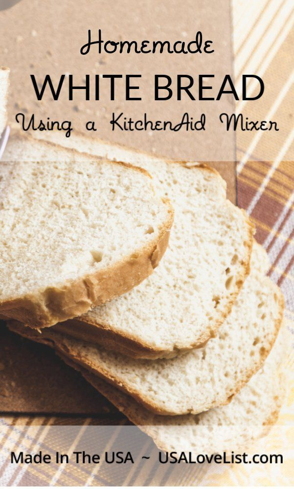 Kitchenaid Mixer Bread Recipes
