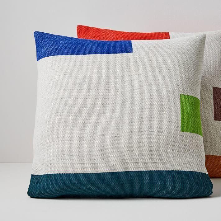 West Elm Outdoor Pillows