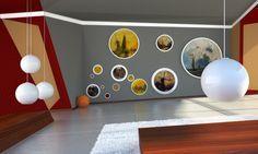 Gradation In Interior Design