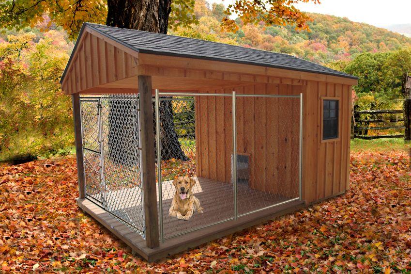 Outdoor Heated Dog House