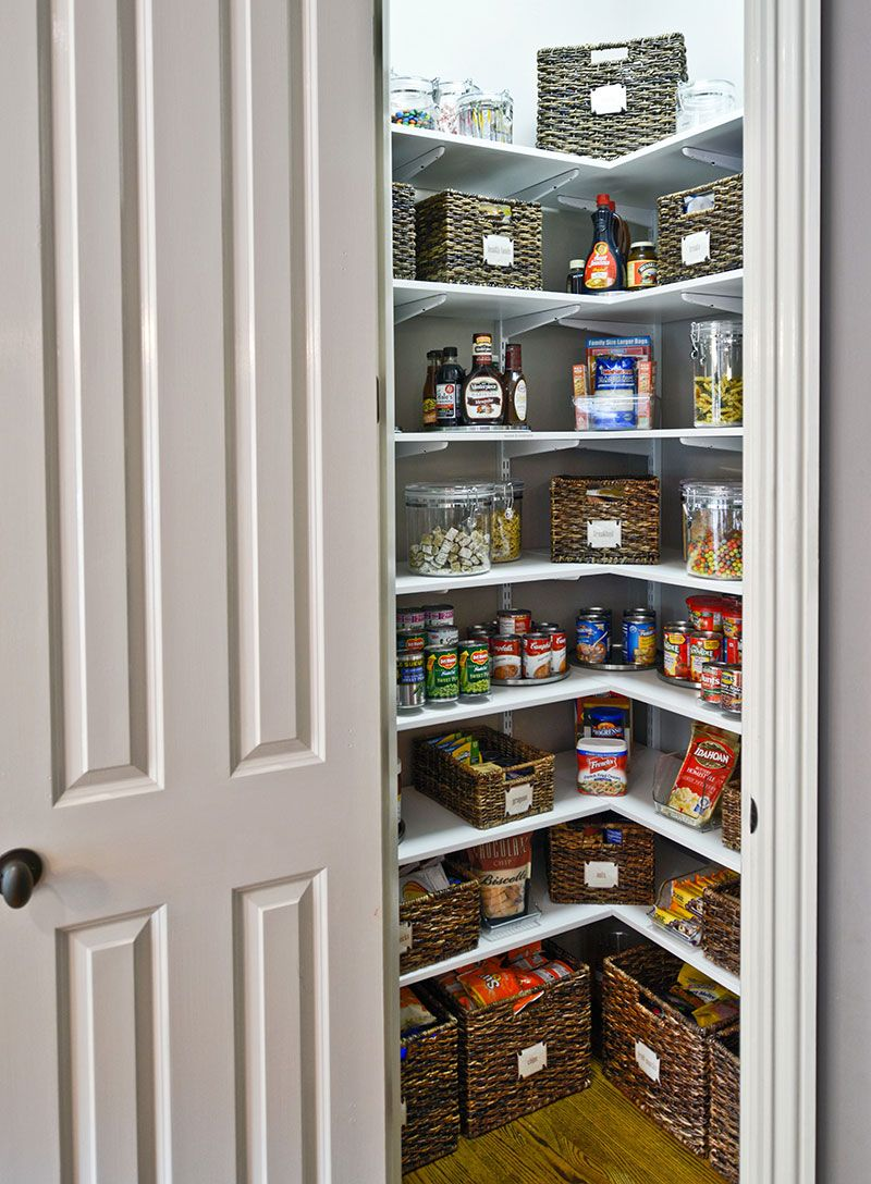 Small Kitchen Pantry Ideas