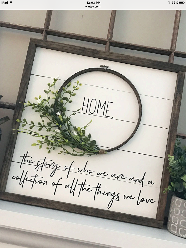 DIY Home Decor Signs