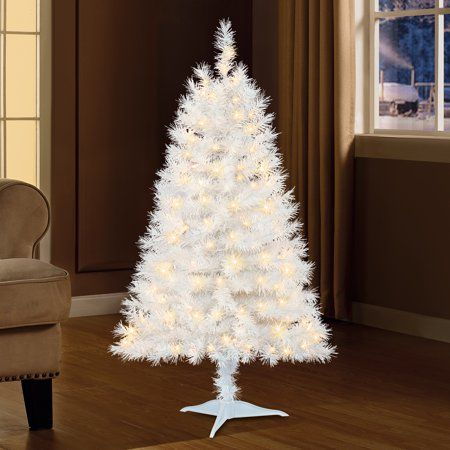 4ft White Christmas Tree