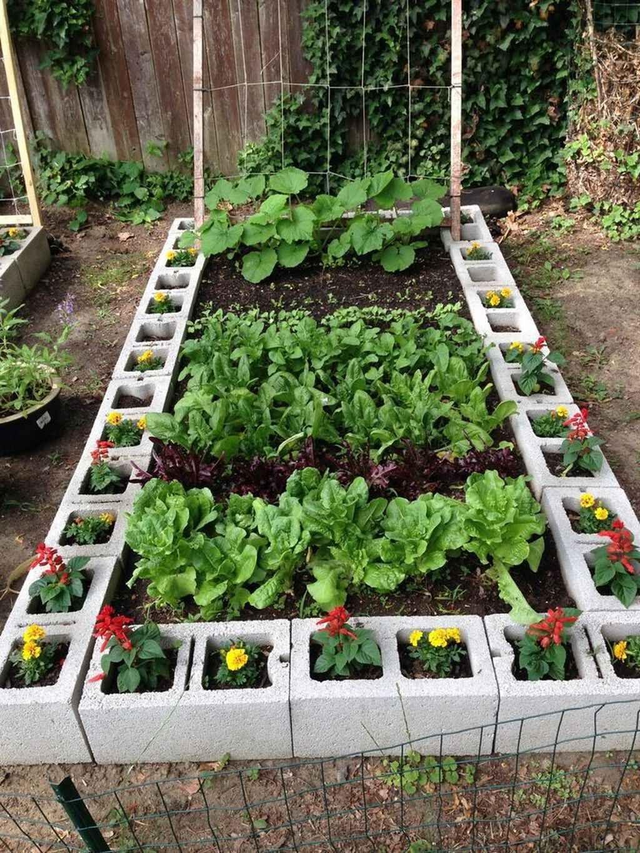 Small Backyard Vegetable Garden Ideas