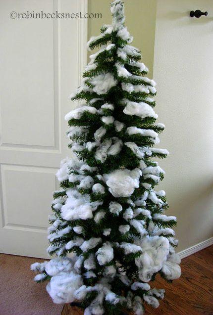 Fake Snow For Christmas Tree