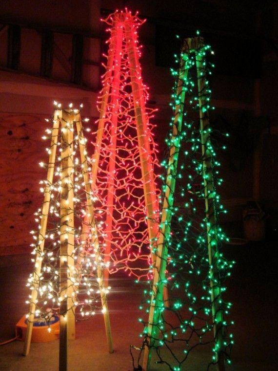 Homemade Outdoor Christmas Light Decorations