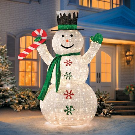 Outdoor Snowman Christmas Decorations