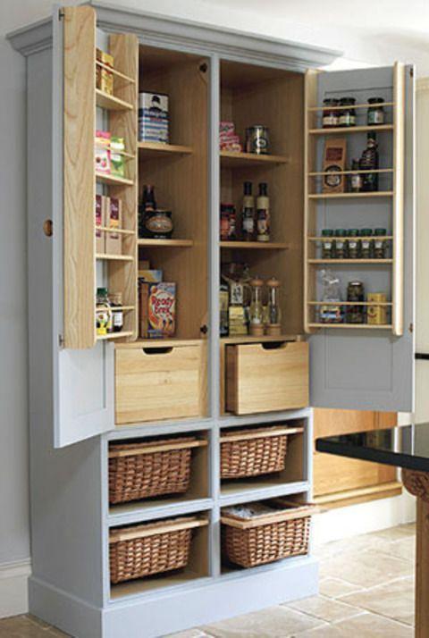 Stand Alone Kitchen Pantry