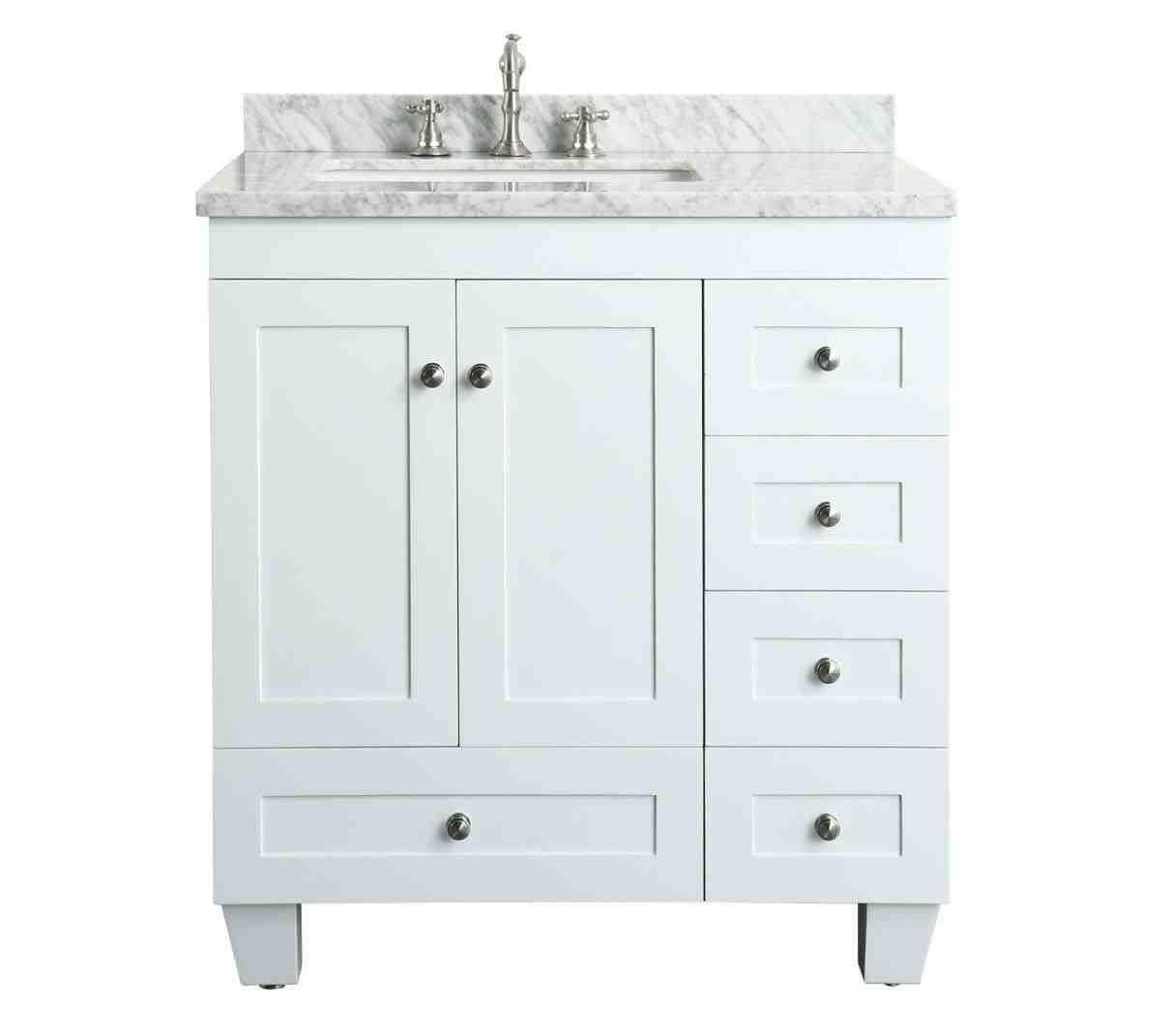 30 Inch Bathroom Vanity With Top