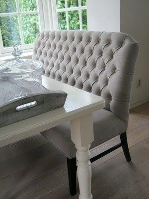 Dining Room Bench With Back