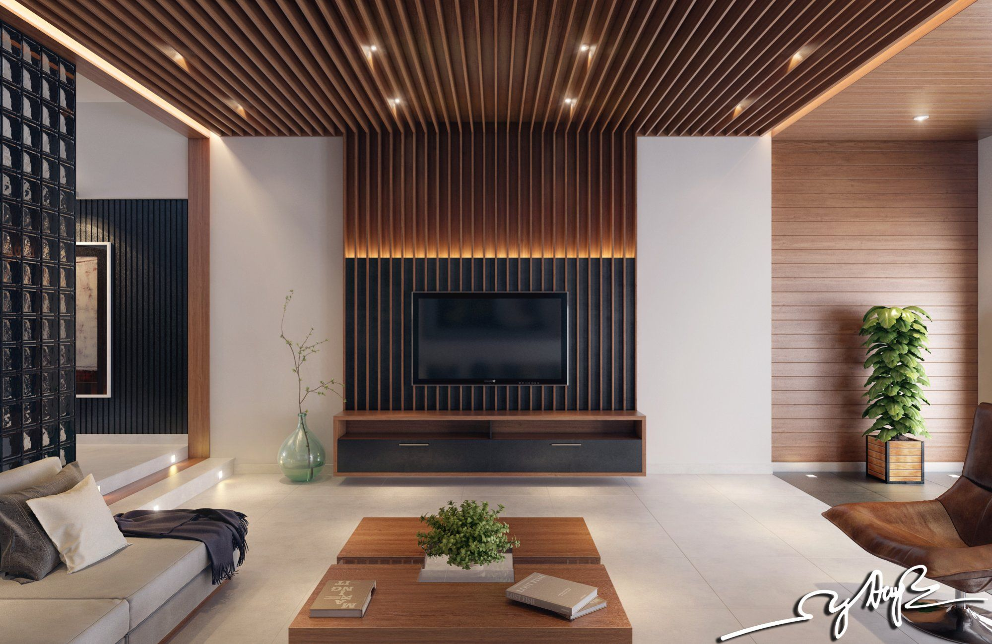 Interior Design Wood Walls