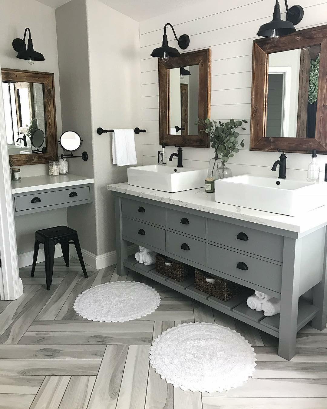Farmhouse Master Bathroom