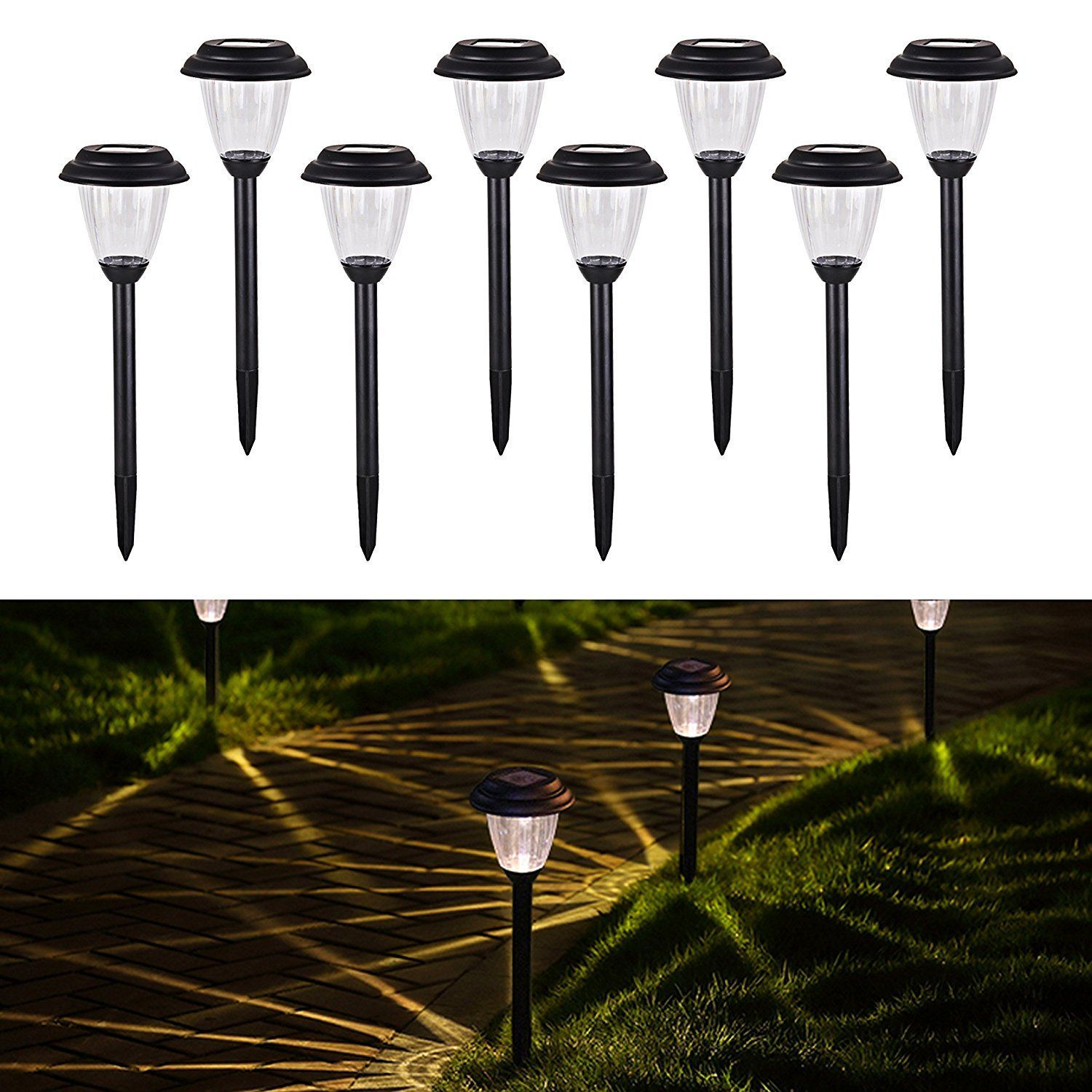 Clearance Outdoor Solar Lights