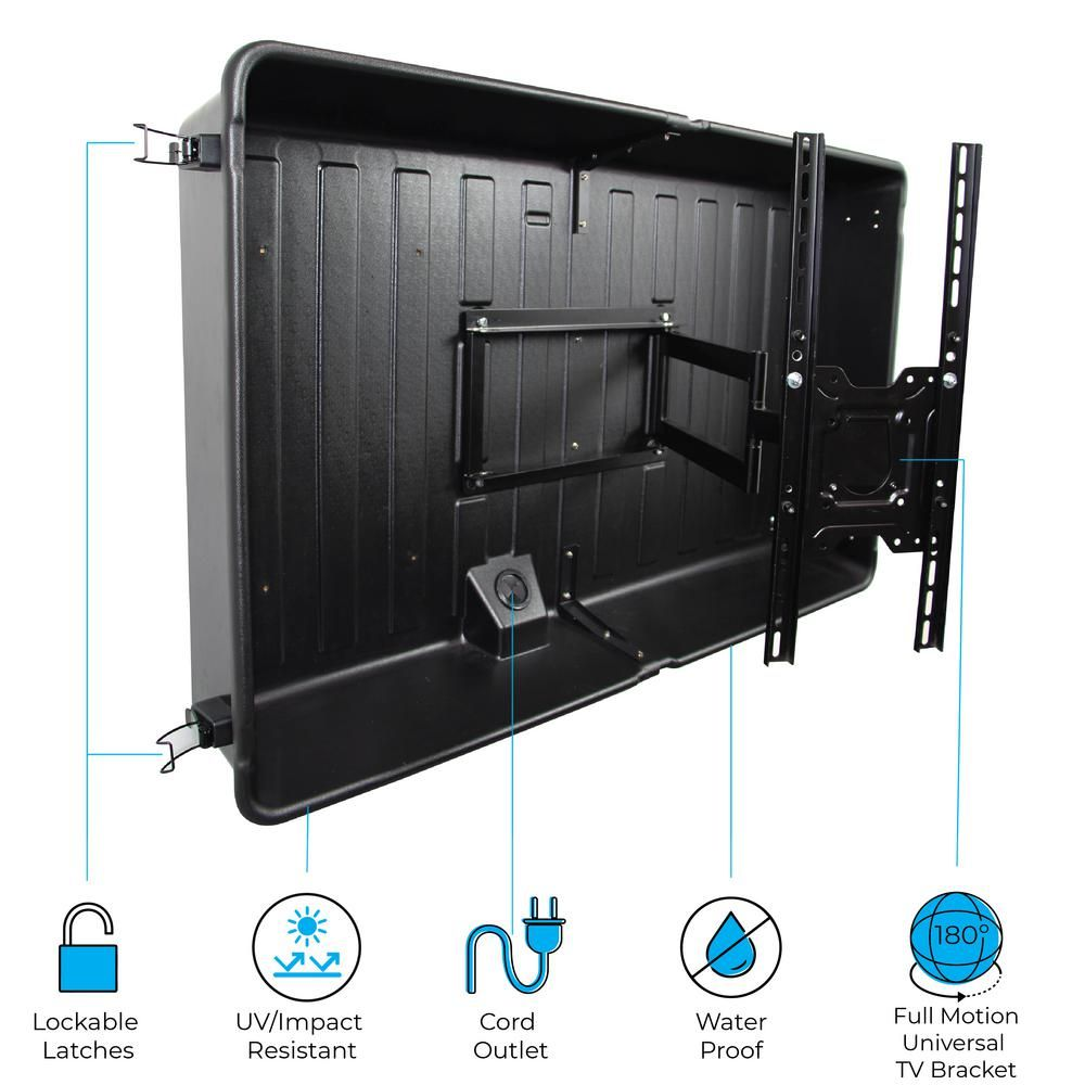 Storm Shell Outdoor Tv Cover