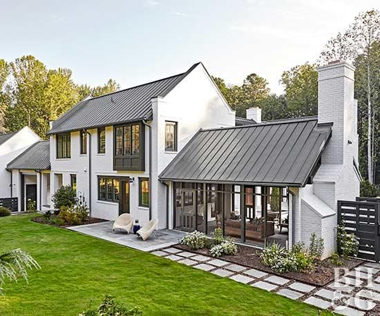 Exterior Modern Farmhouse