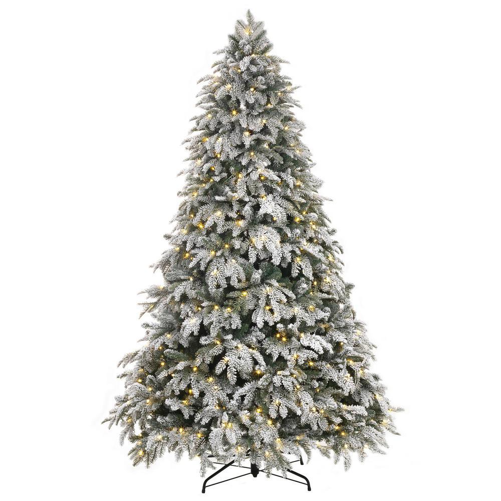 7.5 Flocked Christmas Tree