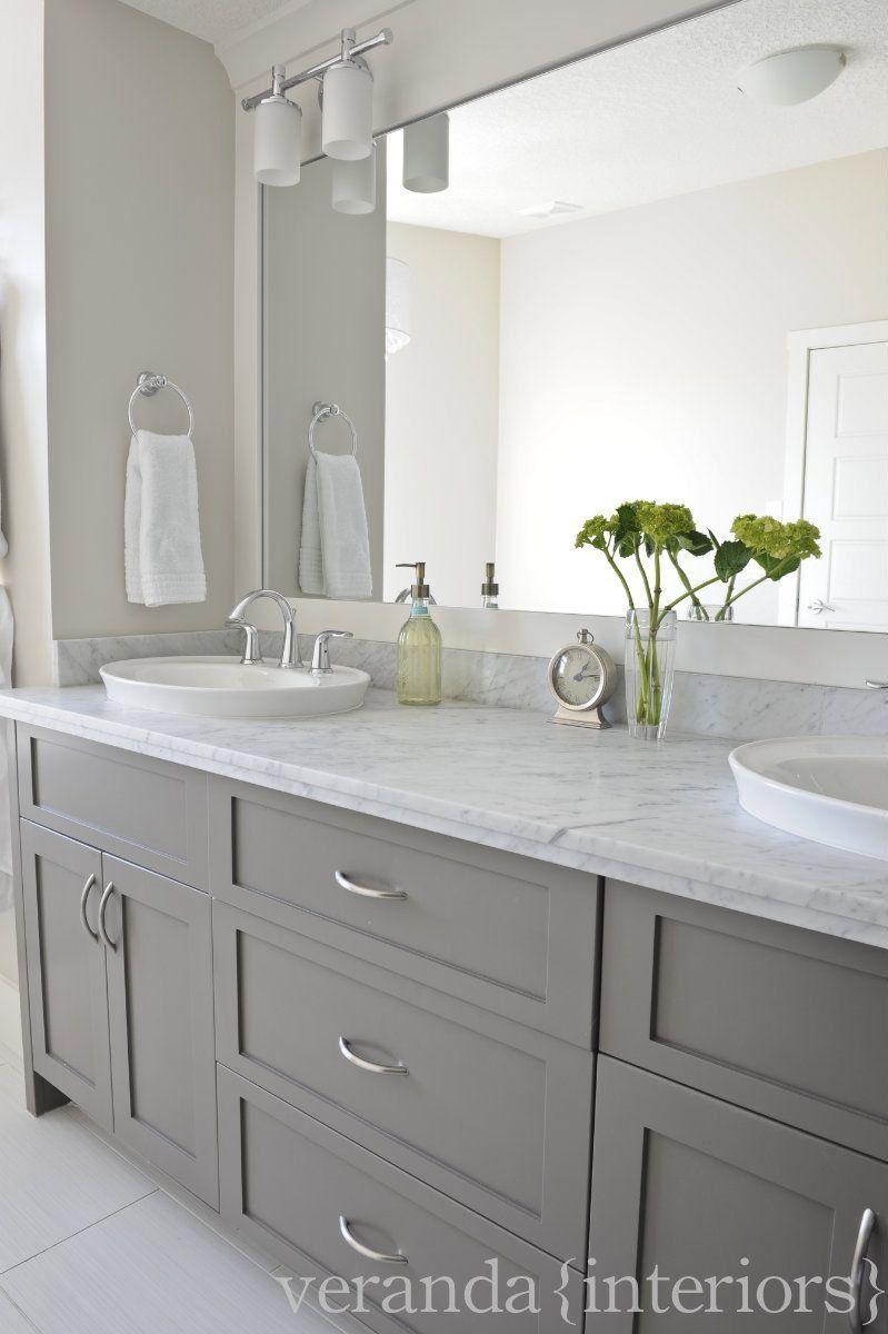 Grey Bathroom Cabinets