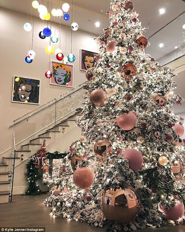 Kylie Jenner Christmas Tree
