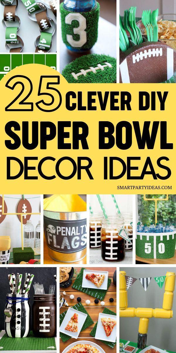 DIY Super Bowl Decorations