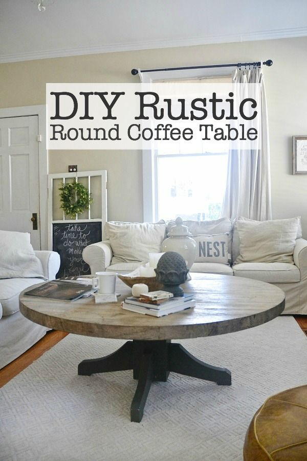 Round Living Room Table