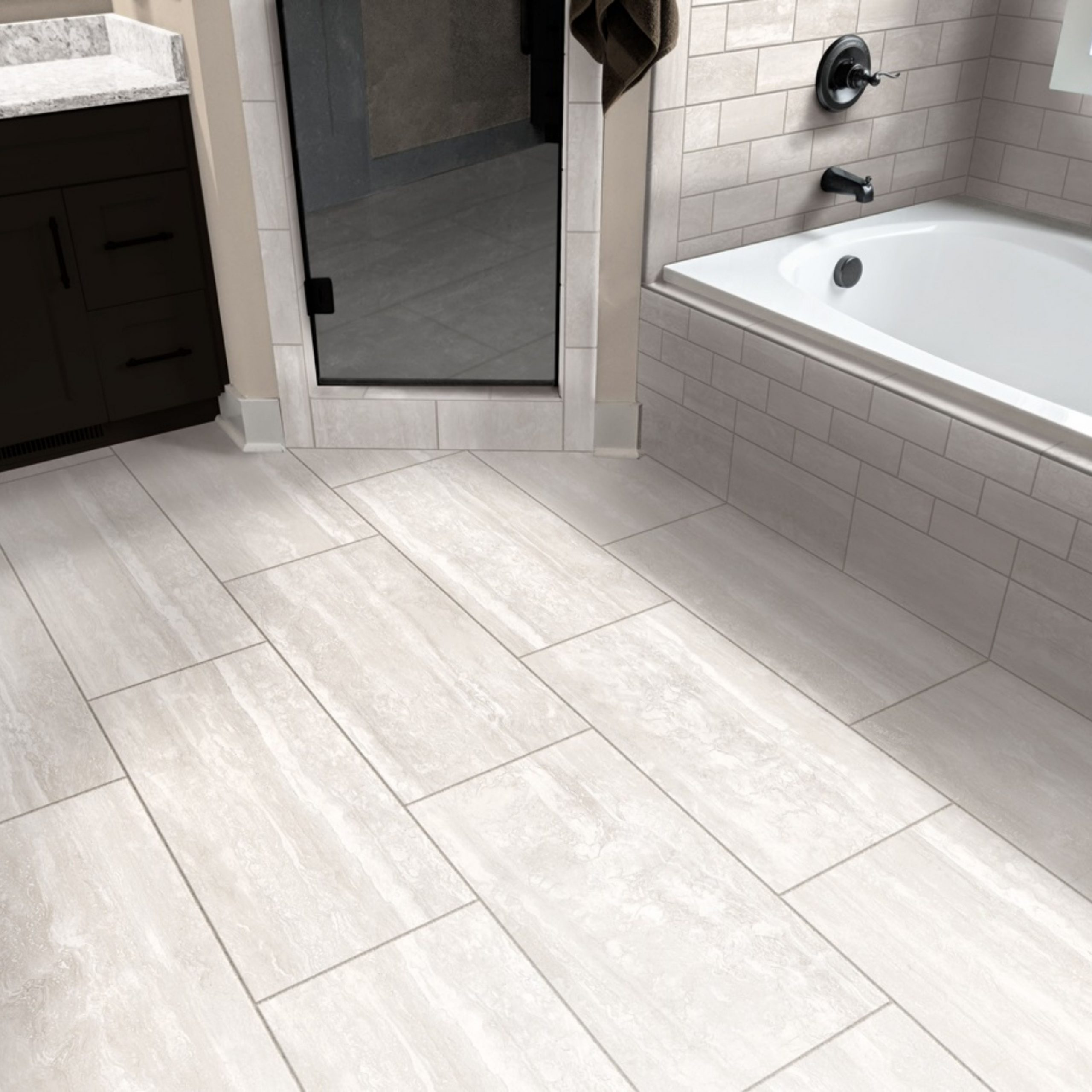 Porcelain Bathroom Floor Tile