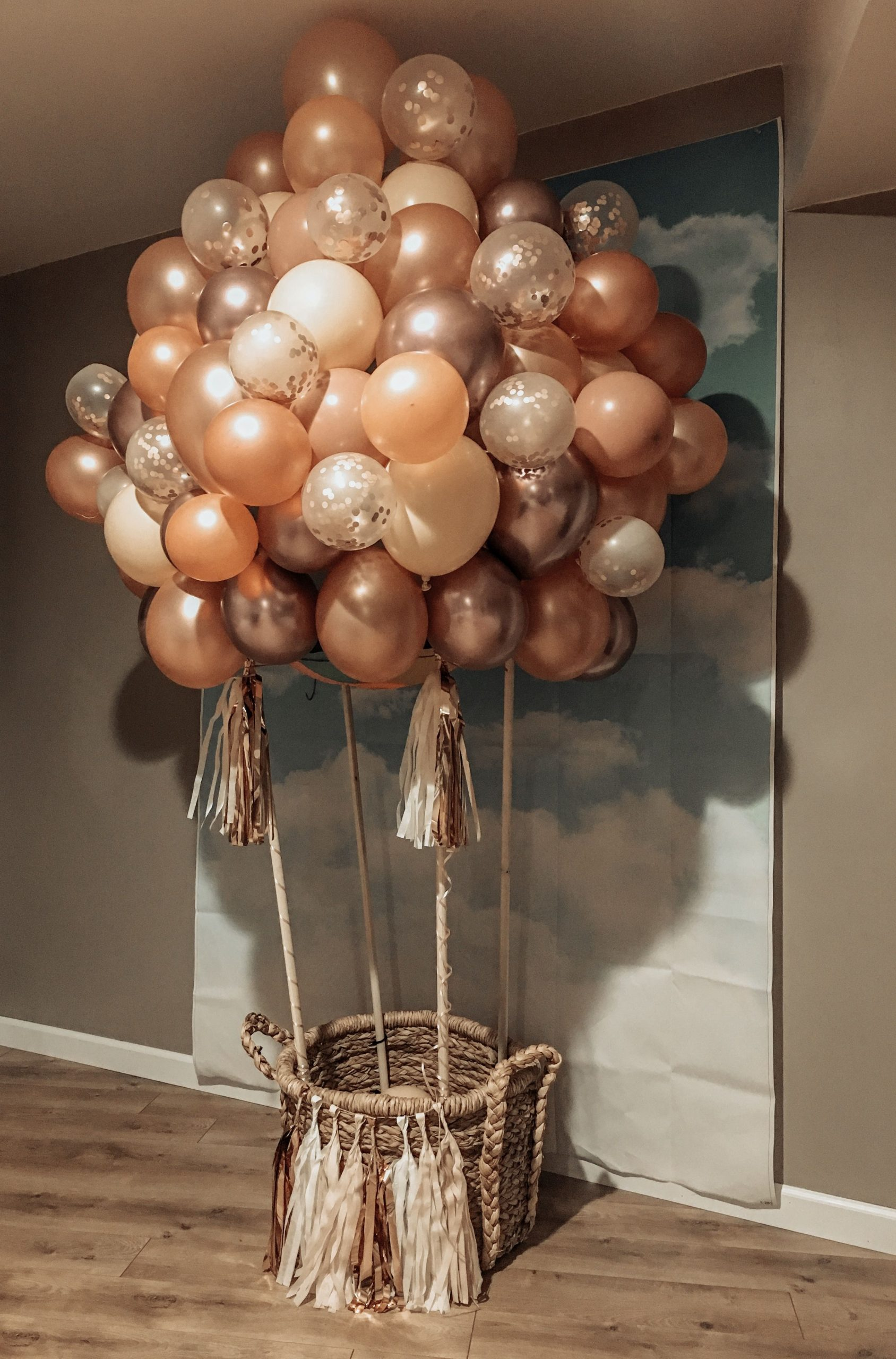 Hot Air Balloon Decorations DIY